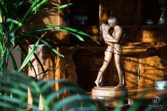 Statuetta innamorati