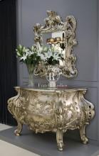 comò e specchera stile Barocco