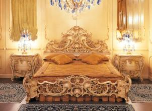 letto barocco