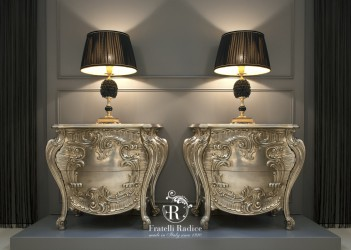 Baroque style night tables ( Fratelli Radice )