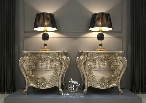 Baroque style night tables ( Fratelli Radice )