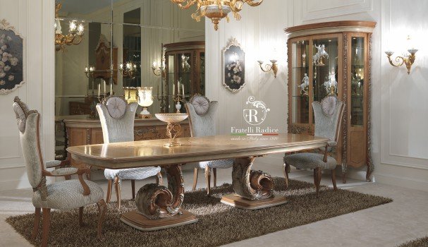 dining table fratelli radice collection duchessa