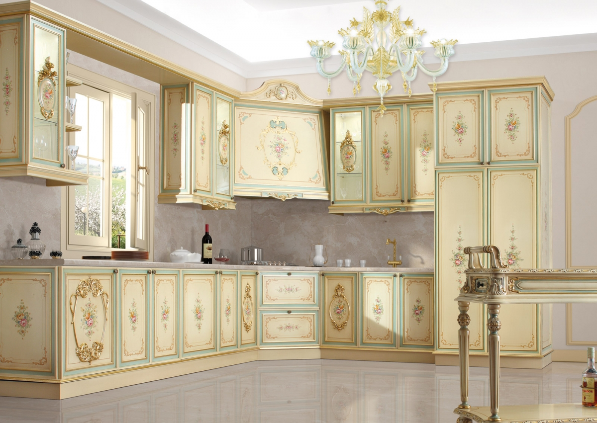 Disegno » Cucine Stile Barocco - Ispirazioni Design dell ...